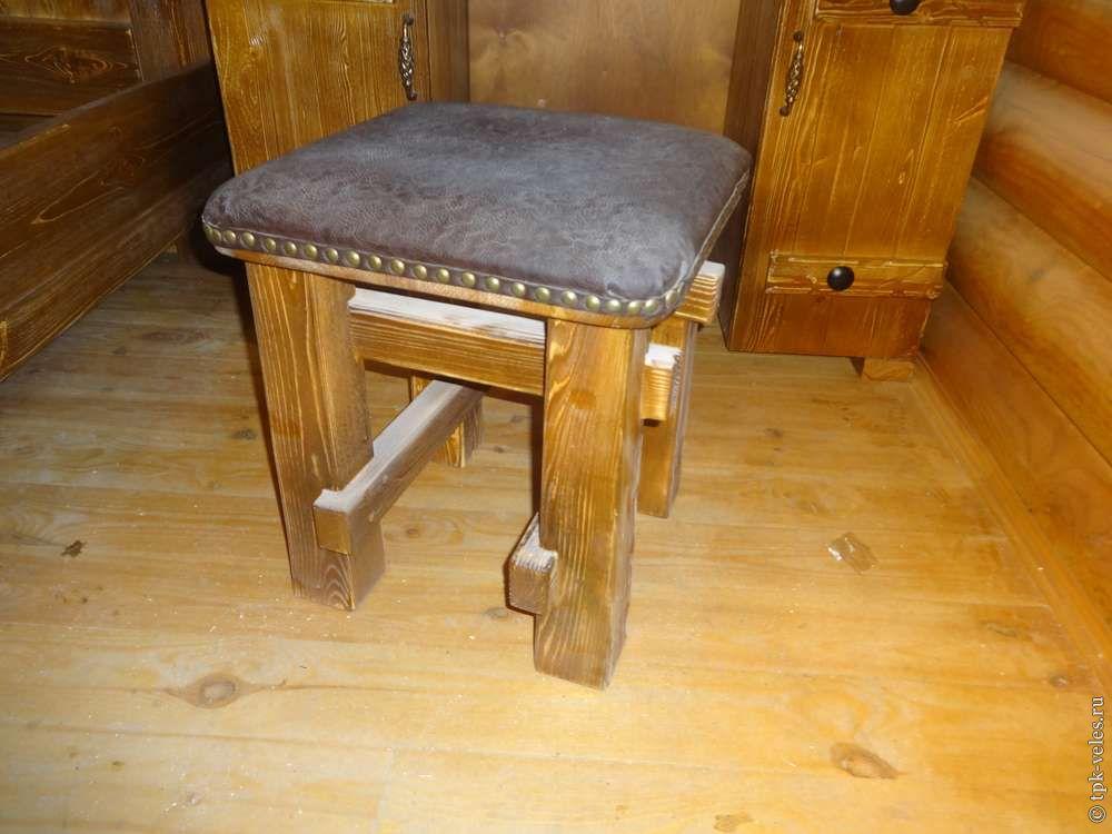 Столы лавки итабуретки из натурального дерева